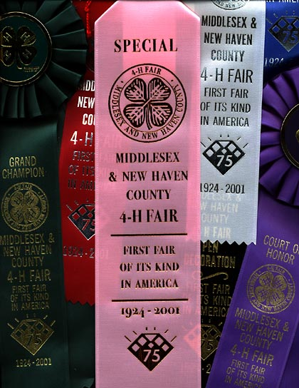 Ribbons for our 75th Fair